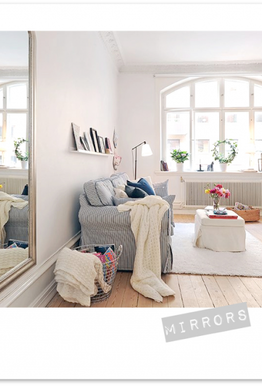10 TIPS FOR SMALL SPACES