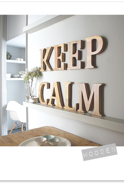 10 WAYS TO DECORATE WITH LETTERS