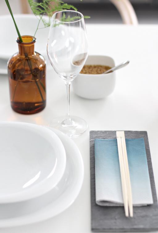 Table setting – Asian fusion