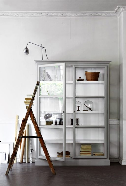 Glass door cabinet – I want you