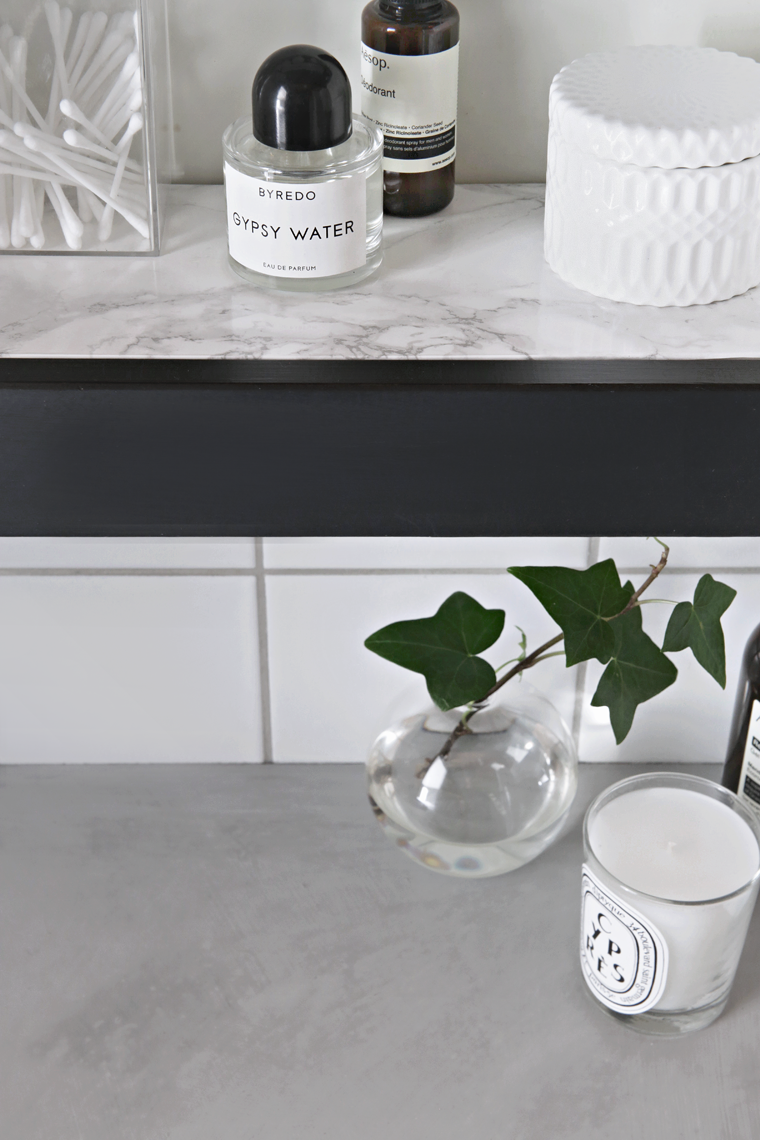 DIY Marble shelf