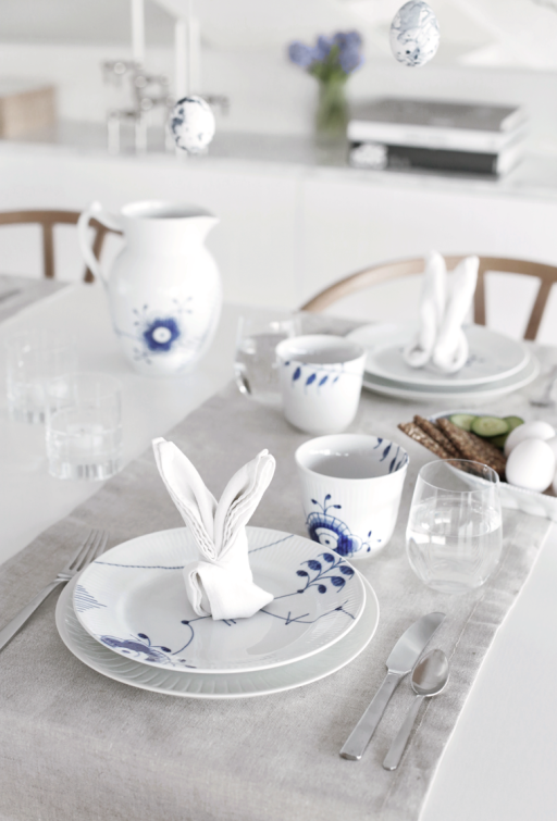 Easter table setting & DIY Eggs