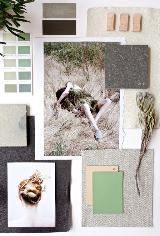 Mood Board Workshop with Gudy Herder in Bergen