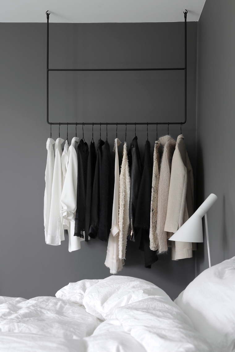 Clothing Rail In The Bedroom Stylizimo