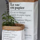 Le petit sac en papier, hvit