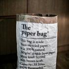 Le sac en papier, hvit
