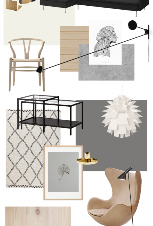 Moodboard – Living room