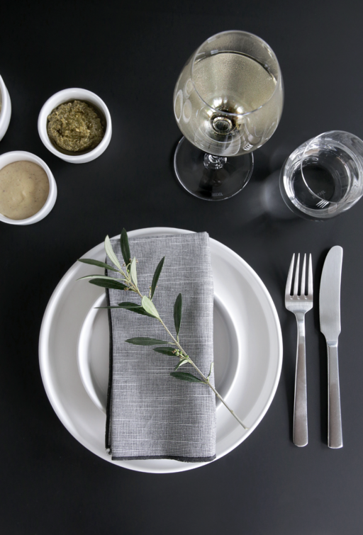 TABLE SETTING TIP  A TWIG OF OLIVE