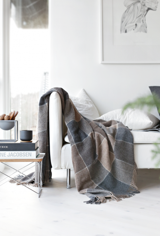 Get warm in Norwegian throws