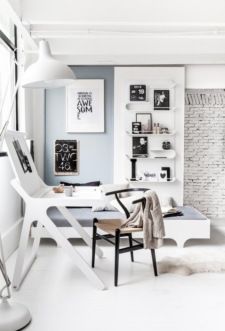 Rafa-kids K desk white + XL shelf 01