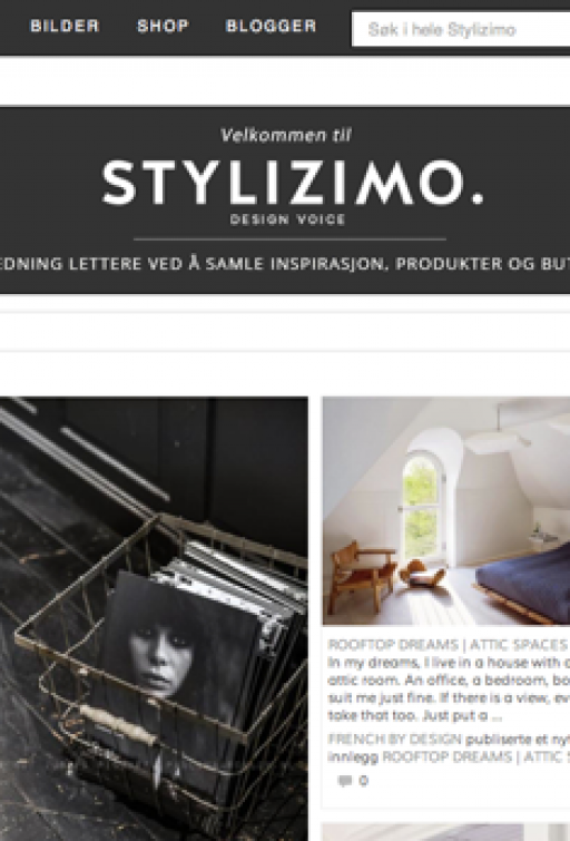 Stylizimo.com in Norwegian